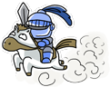 อัศวินขี่ม้าขาว