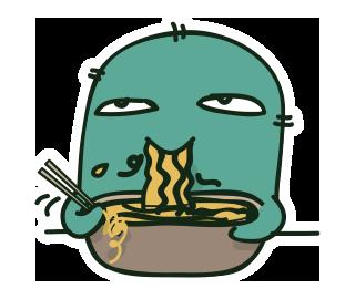 เพี้ยนกินมาม่า
