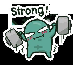 เพี้ยนแข็งแรง