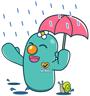 พาพันติดฝน